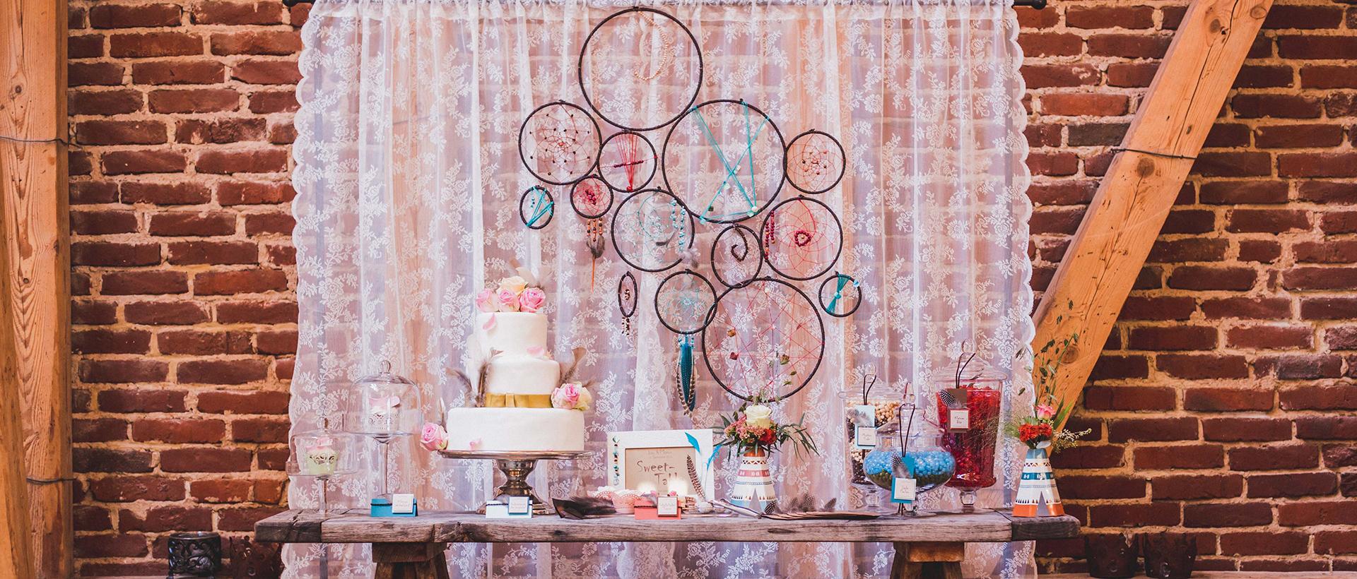 Hochzeitstorte vom Café Rosenpark, Credit medienzauberei